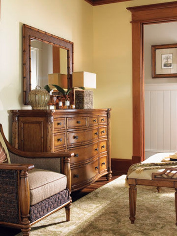 Tommy Bahama Home Bedroom Barbados Triple Dresser 531 234