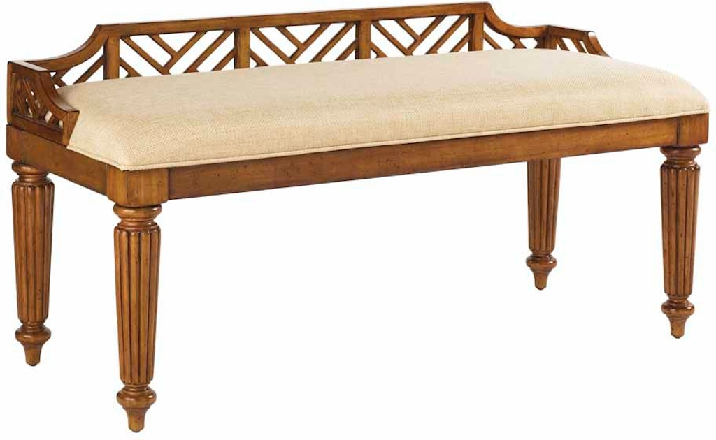 Tommy Bahama Home Bedroom Plantain Bed Bench 531 536