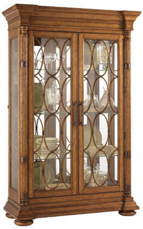 Tommy Bahama Home 531 864 Dining Room Mariana Display Cabinet