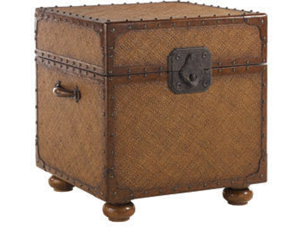 Tommy bahama home living room east cove trunk 531 955 - Living room furniture fort myers fl ...