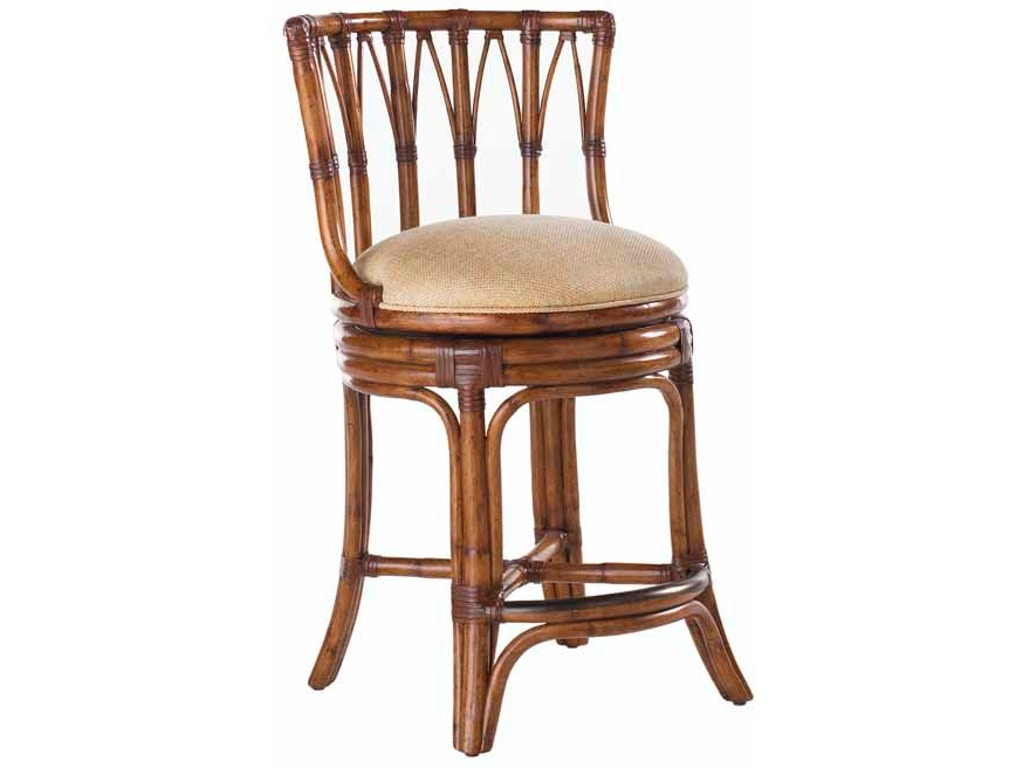 Tommy Bahama Home Bar And Game Room South Beach Swivel Counter Stool 531 815 Bacons Furniture