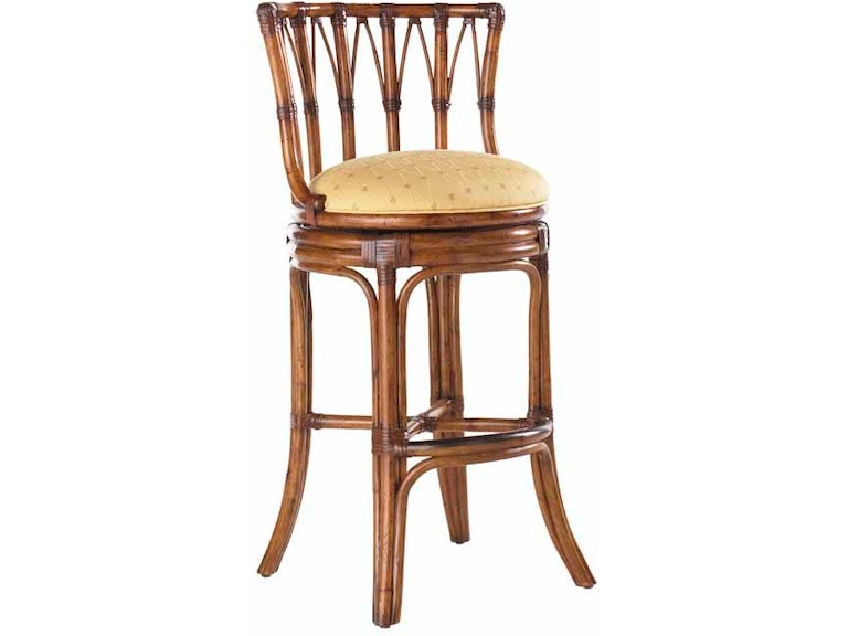 Tommy Bahama Home South Beach Swivel Bar Stool 531-816