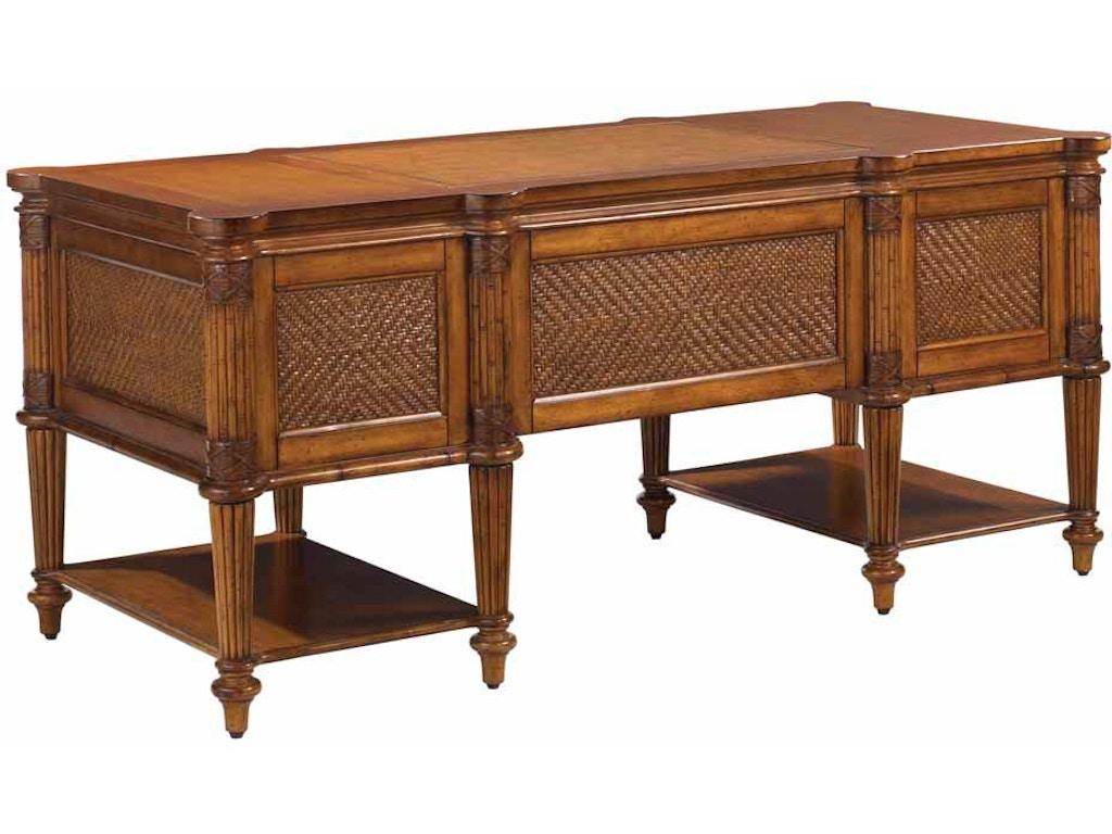 Tommy Bahama Home Home Office Fraser Island Desk 531 933 Hickory Furniture Mart Hickory Nc