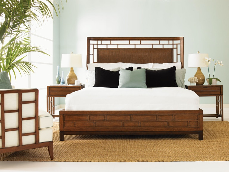 Tommy Bahama Home Bedroom Paradise Point Side Support 5 0
