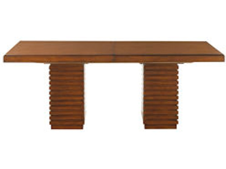 Tommy Bahama Home Dining Room Peninsula Dining Table 536-876C ...