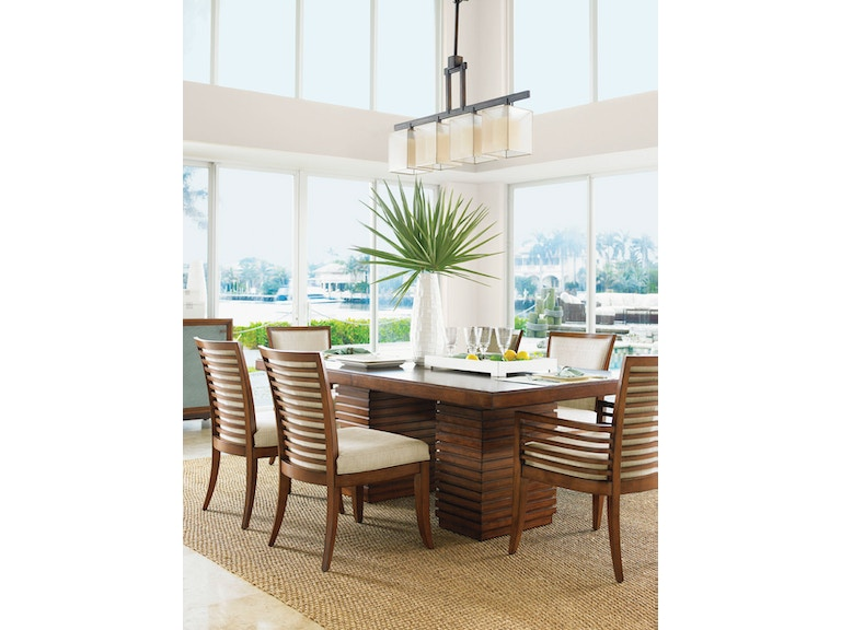 Tommy Bahama Home Dining Room Peninsula Table Top 536-876T ...