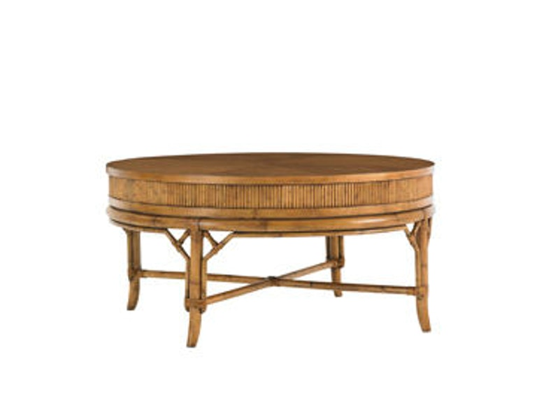 Tommy Bahama Home Oyster Cove Round Cocktail Table 540-943