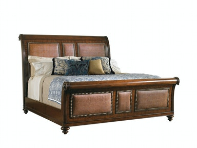 Tommy Bahama Home Palmera 5/0 Queen Sleigh Bed 545-189C