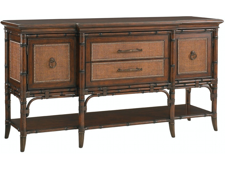 Tommy Bahama Home Living Room Pine Island Sideboard 545 869 At Marty Raes Of Lexington