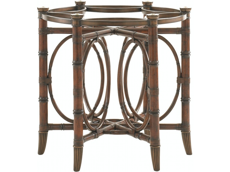 Tommy Bahama Home Dining Room Coral Sea Rattan Dining Table Base 545