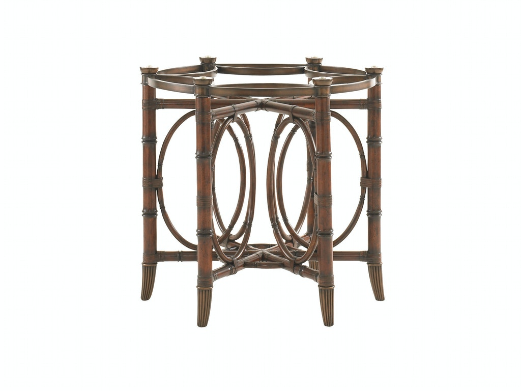 Tommy bahama home dining room coral sea rattan dining for Dining room tables vancouver wa