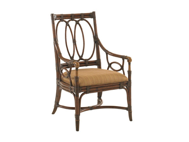 Tommy Bahama Home Palmetto Arm Chair 545-881