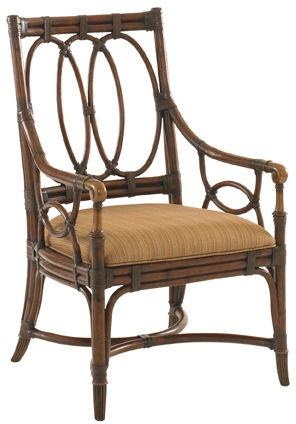 Tommy Bahama Home Dining Room Palmetto Arm Chair 545 881  : 54588101silo from www.indianriverfurniture.com size 1024 x 768 jpeg 41kB