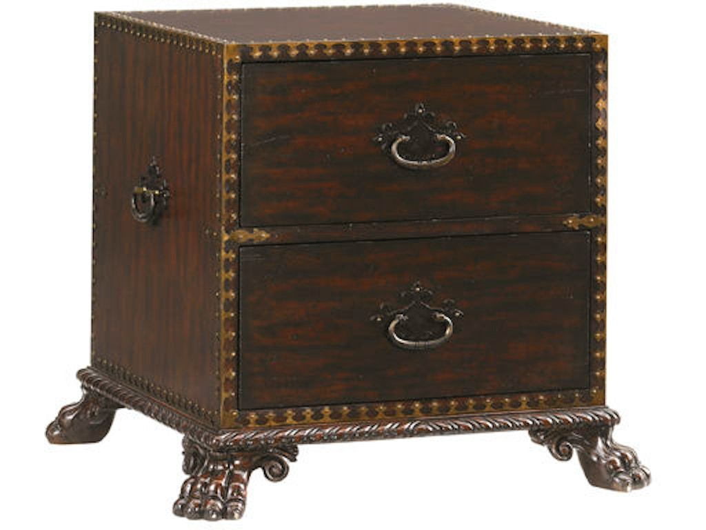 Tommy Bahama Home Living Room Bradford Drawer End Table 548 950 Howell Furniture Beaumont