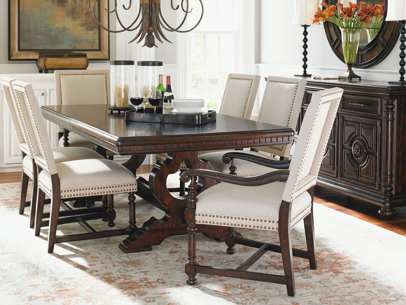 Tommy Bahama Home Expedition Rectangular Dining Table 552 877C