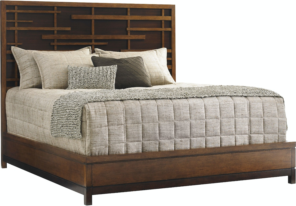 Tommy Bahama Home Bedroom Shanghai Panel Bed 6 6 King 556