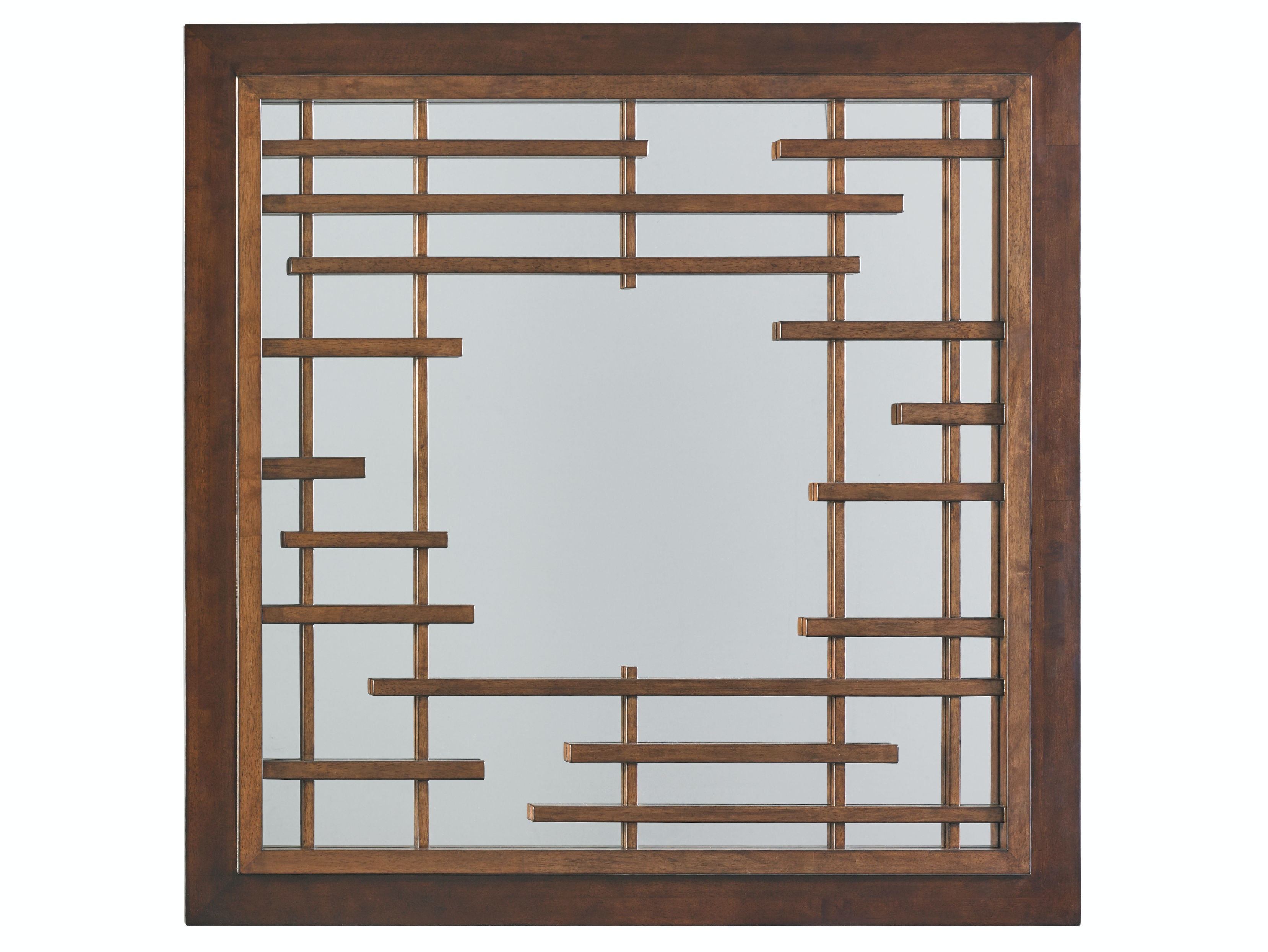 Tommy Bahama Home By Lexington Mikasa Square Mirror LX010556204 From Walter  E. Smithe Furniture +