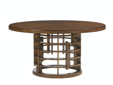 Tommy Bahama Home Meridien Round Dining Table Base 556-875B