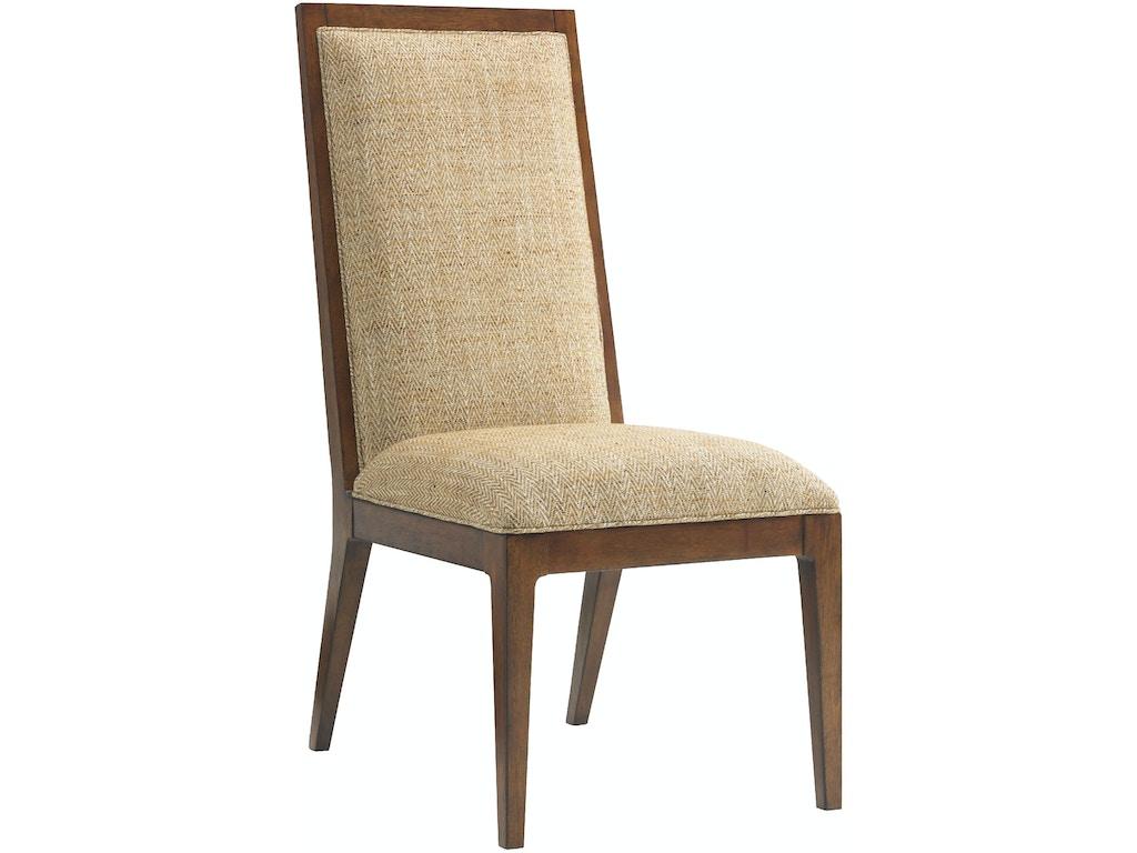 Tommy Bahama Home Dining Room Natori Slat Back Side Chair