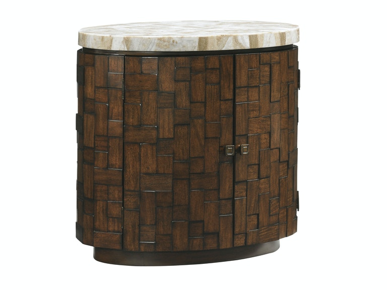 Tommy Bahama Home Banyan Oval Accent Table 556-950
