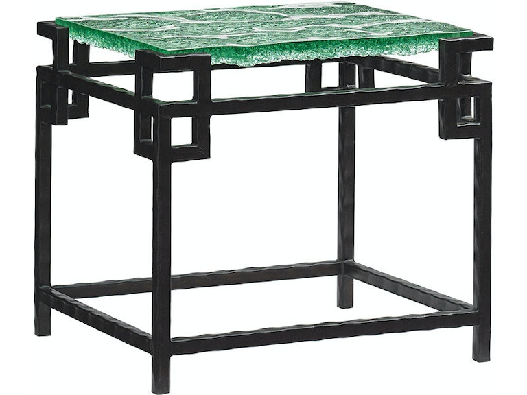 Tommy Bahama Home Hermes Reef Glass Top Martini Table 556-952C