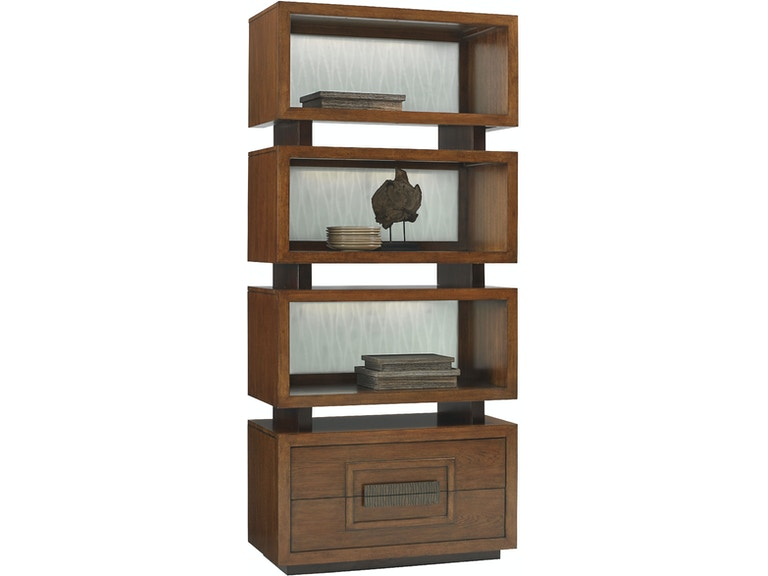 Tommy Bahama Home By Lexington Tonga Tiered Bookcase LX010556990 From Walter E Smithe Furniture