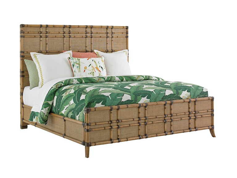 Tommy Bahama Home Cocoa Bay Panel Bed 6/6 King 558-134C