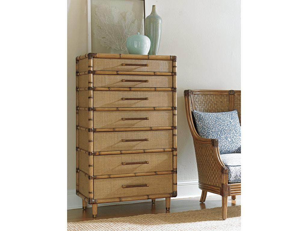 Tommy Bahama Home Bedroom Bridgetown Chest 558 306 Howell Furniture Beaumont And Nederland