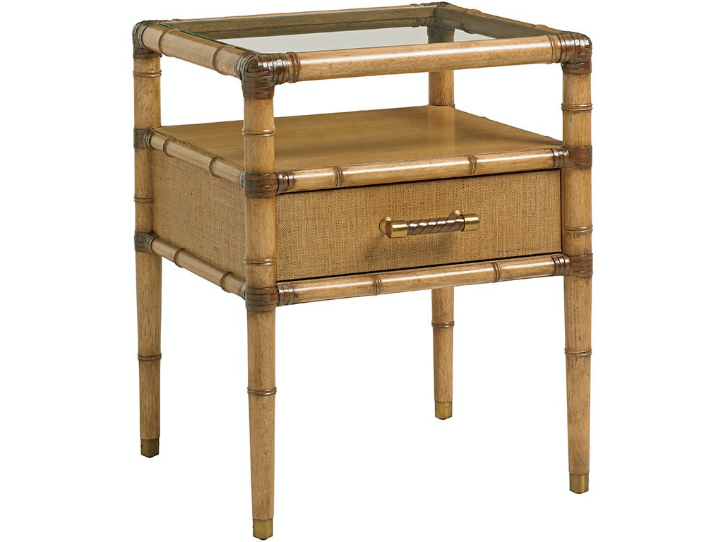 Tommy Bahama Home Bedroom Bayshore Night Table 558 622 Howell Furniture Beaumont And