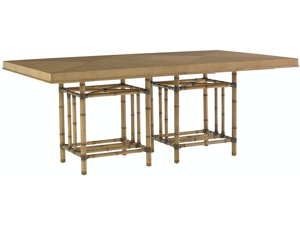 Caneel bay dining table lx010558876c for Walter e smithe dining room furniture
