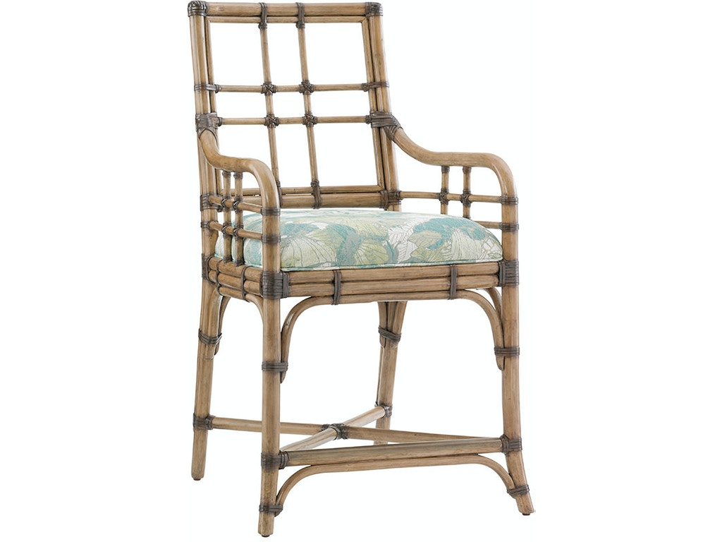 Tommy Bahama Home Dining Room Lands End Counter Stool 558 895 Howell Furniture Beaumont And