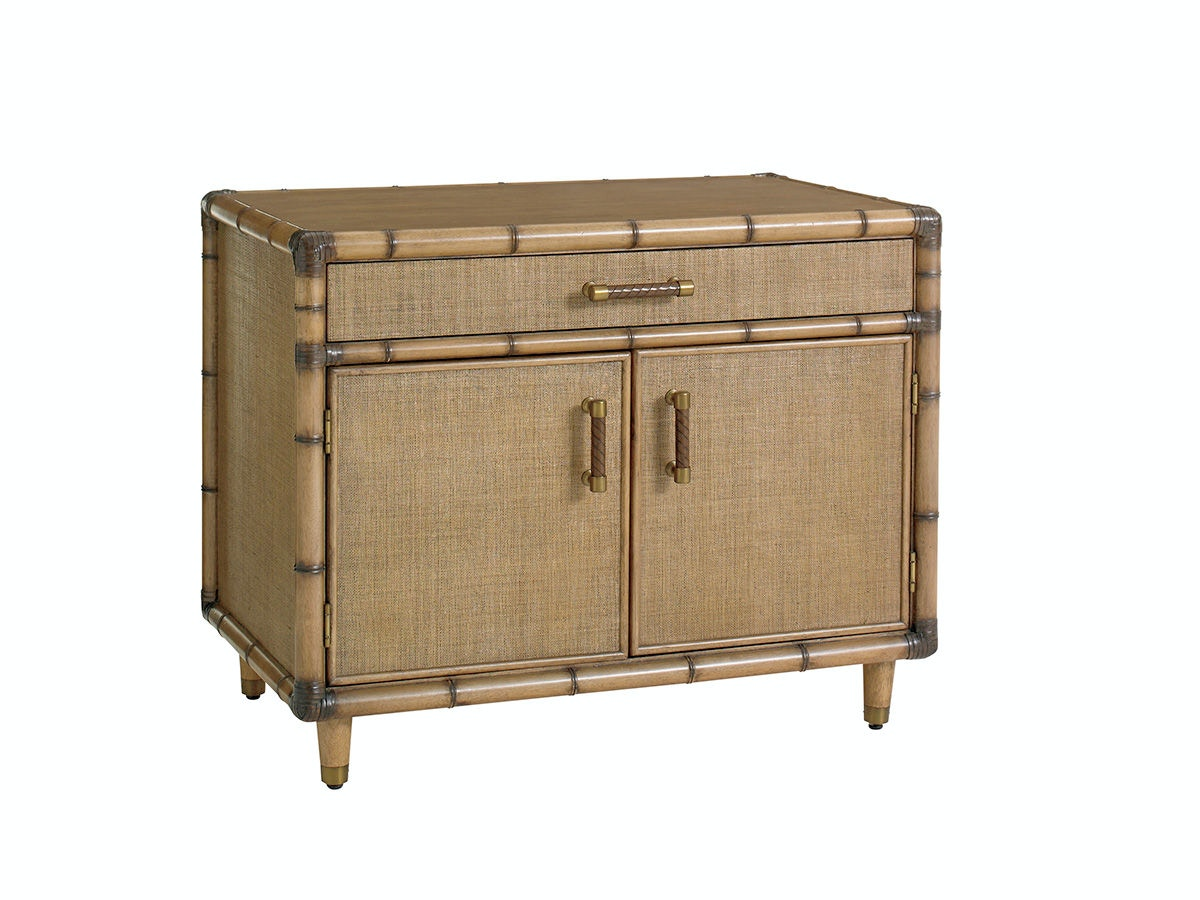 Tommy Bahama Home Twin Palms Larimar Storage Chest 558 932