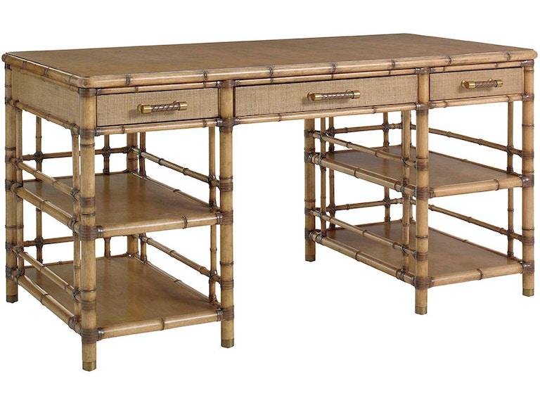 Tommy Bahama Home St Vincent Pedestal Desk 558 933 Available To Order At Flemington Department