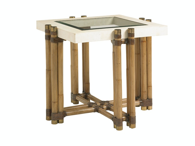 Tommy Bahama Home Los Cabos Lamp Table 558-957