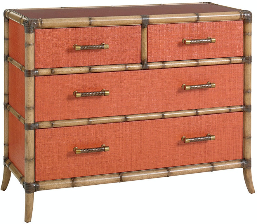 Tommy Bahama Home Bedroom Red Coral Chest 559 624 Claussens Furniture Lakeland And Winter