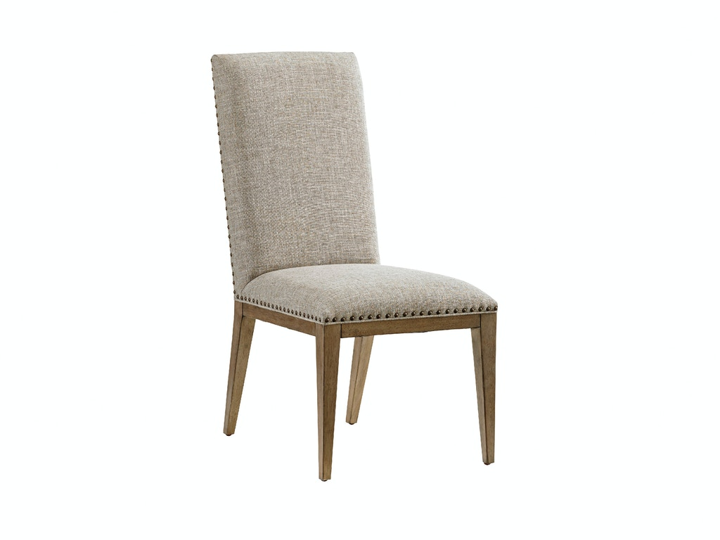 Devereaux upholstered side chair lx01056188001 for Home furniture by design bahamas