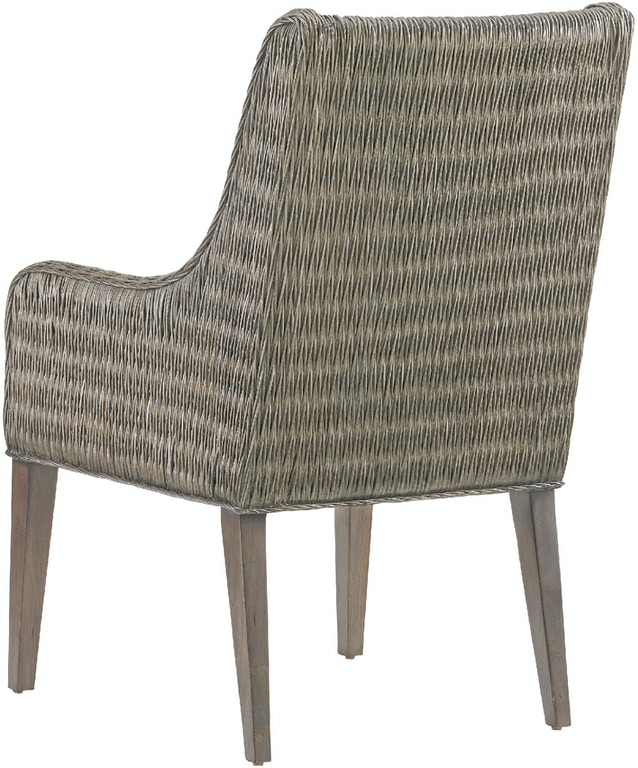 Tommy Bahama Home Dining Room Brandon Woven Arm Chair 562