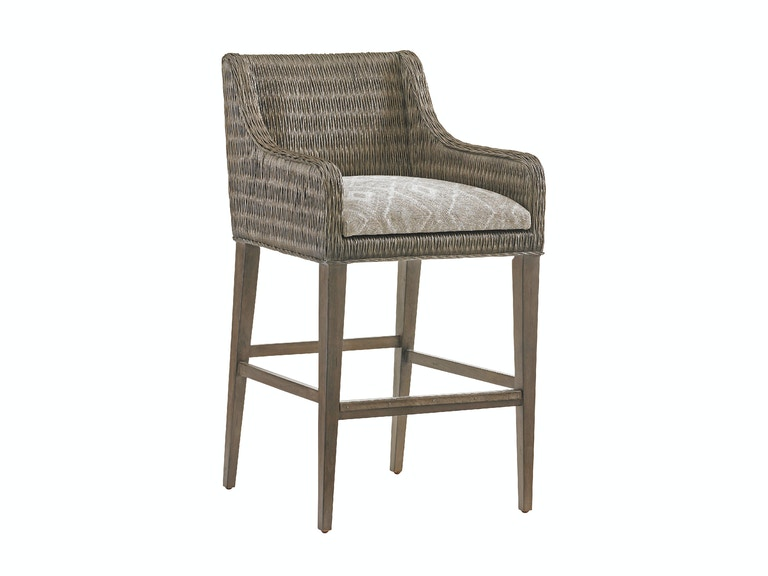 Tommy Bahama Home Turner Woven Bar Stool 562-896