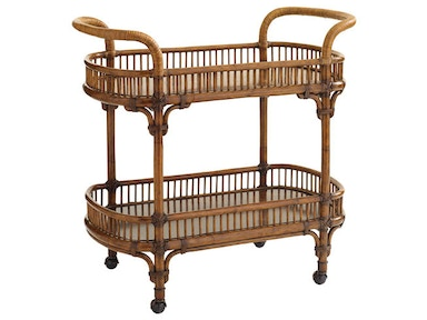 Tommy Bahama Home Veranda Bar Cart 593-862