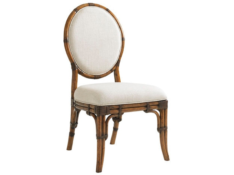 Tommy Bahama Home Gulfstream Oval Back Side Chair 593-880-01