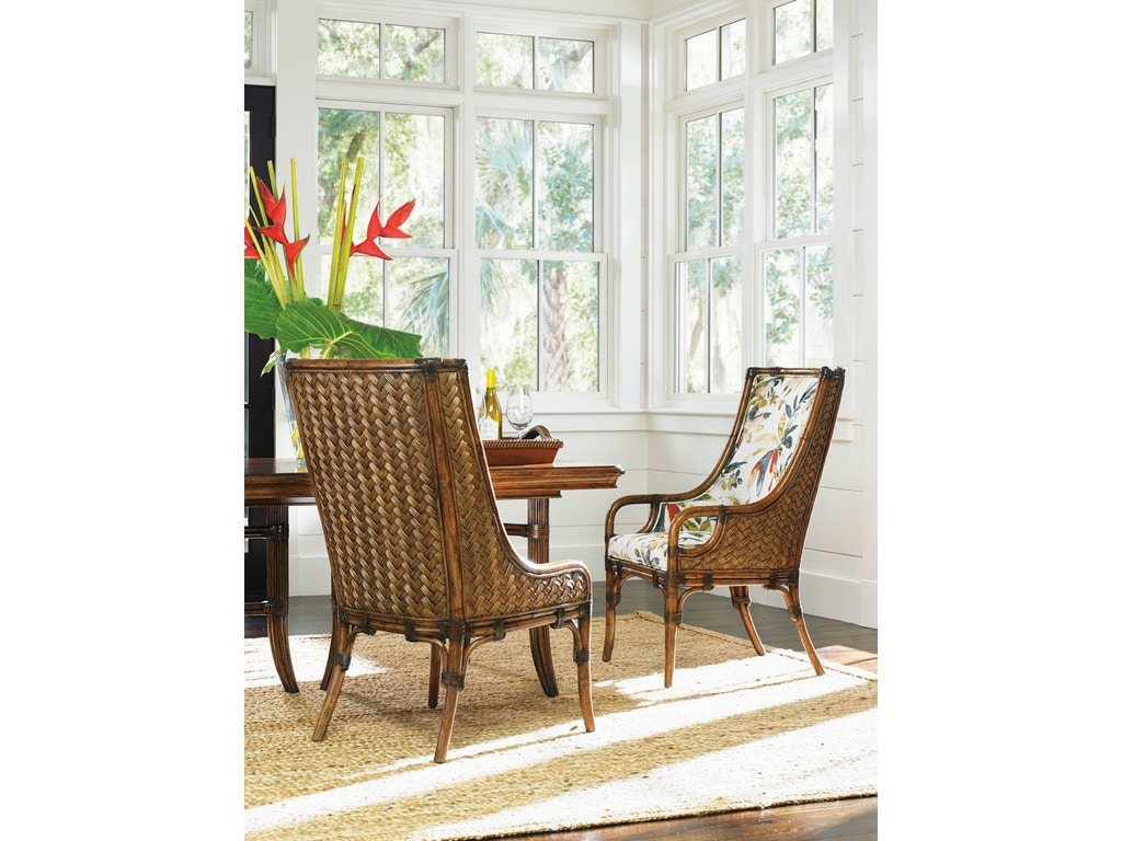 Tommy Bahama Home Dining Room Marabella Upholstered Side Chair 593 ...