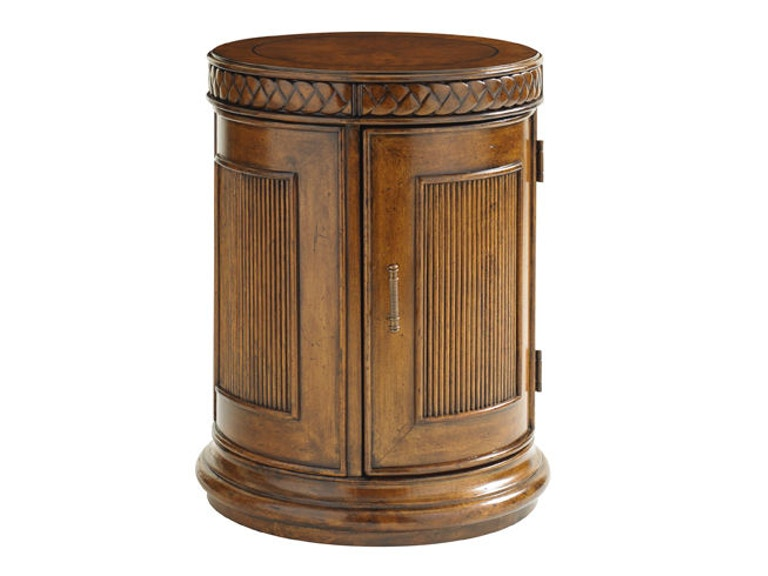 Tommy Bahama Home Belize Round End Table 593-950