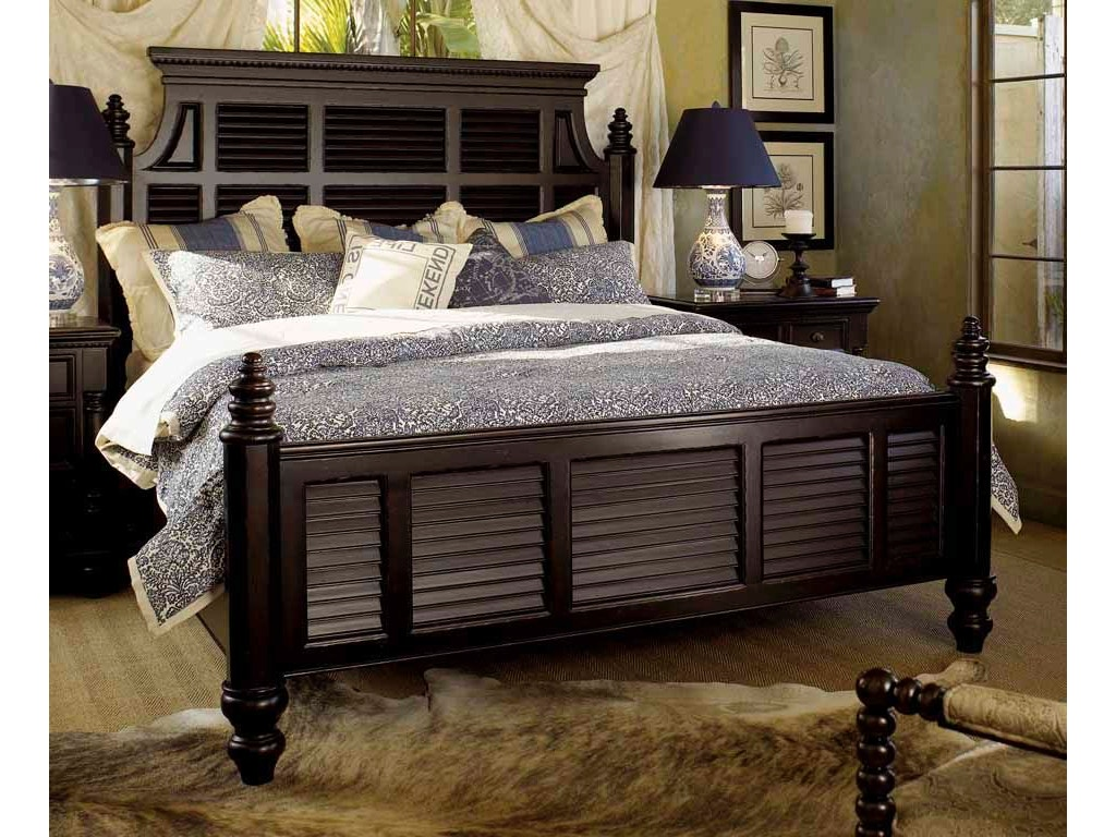 Tommy Bahama Home Bedroom Malabar 5 0 Queen Panel Bed 619 133c Exotic Home Coastal Outlet