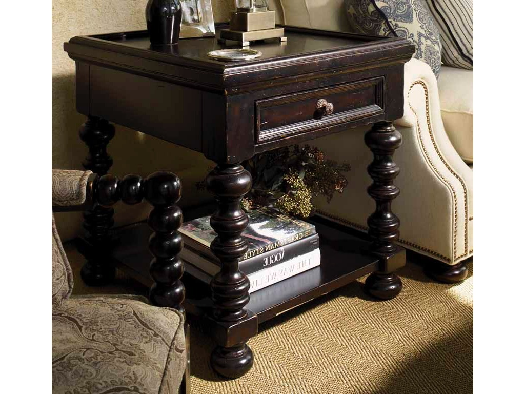 Tommy Bahama Home Living Room Explorer End Table O0619943 Howell Furniture Beaumont And