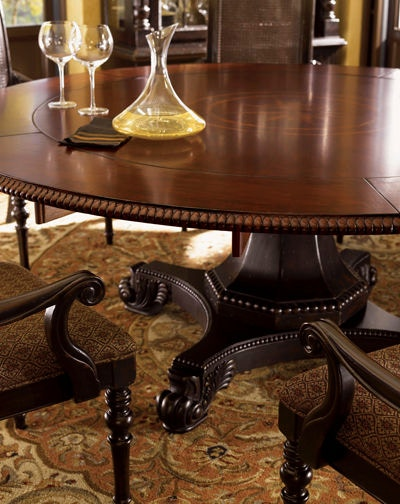 tommy bahama home dining room bonaire round dining table 621 870c