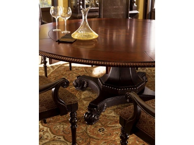 Tommy Bahama Home Dining Room Bonaire Round Dining Table 621-870C ...