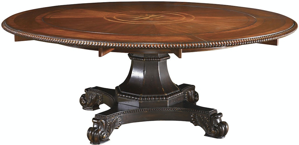 Tommy Bahama Home Dining Room Bonaire Round Dining Table 621 ...