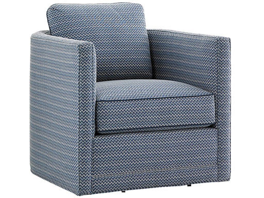 Tommy Bahama Home Living Room Dorado Beach Swivel Chair