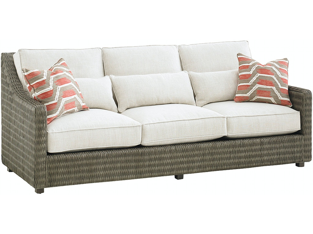 Tommy Bahama Home Living Room Hayes Sofa 7470 33 Howell Furniture Beaumont And Nederland Tx