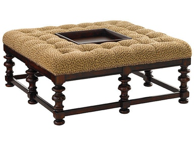 Tommy Bahama Home Heather Cocktail Ottoman 7900-44